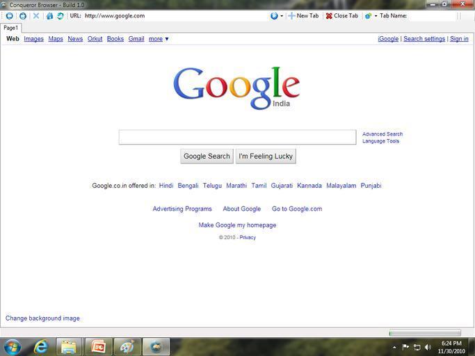 Klasický prohlížeč