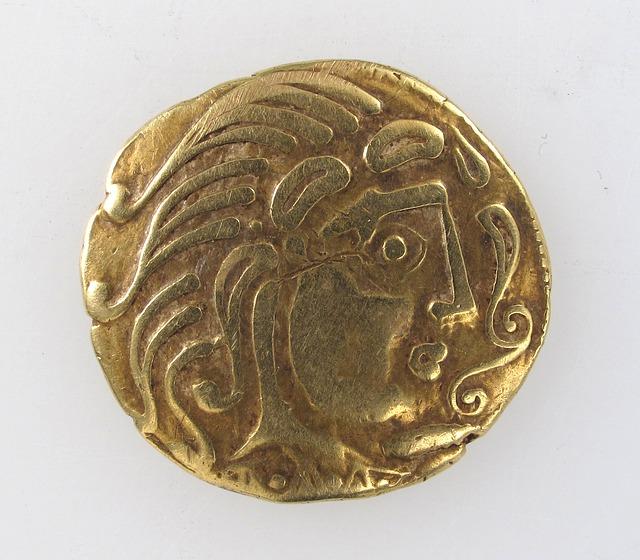 zlatá antická mince, Řek