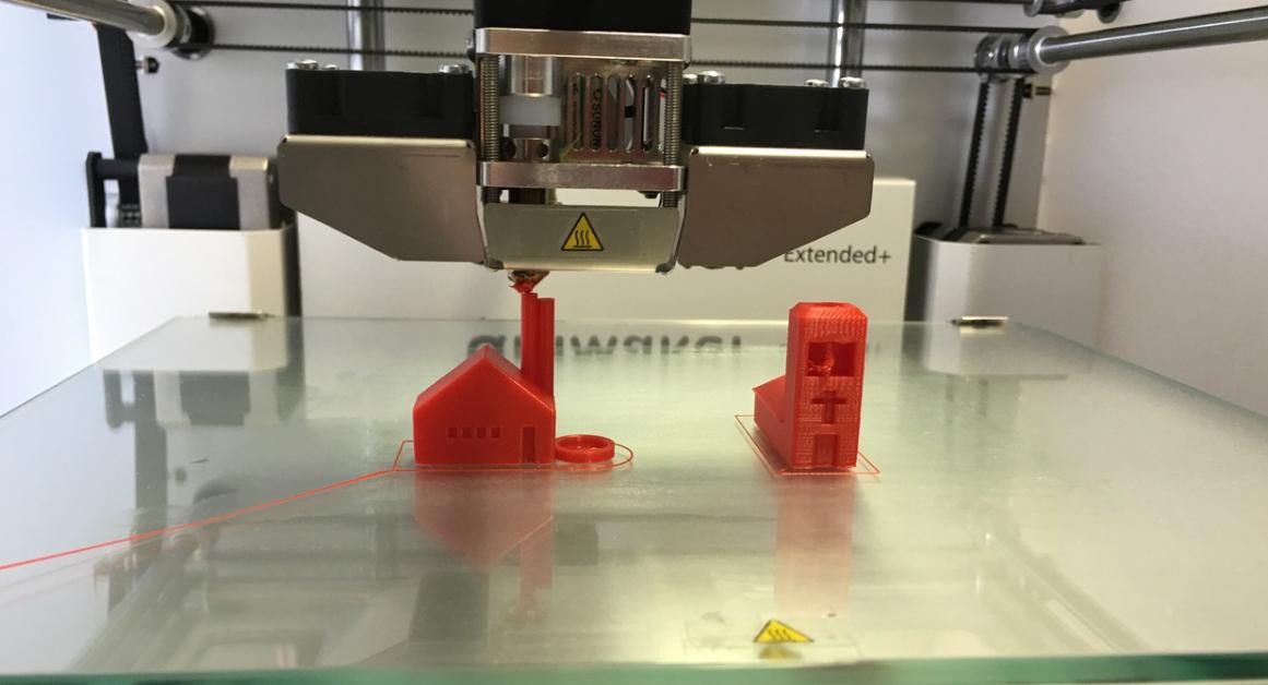 tisk pomocí 3D tiskárny